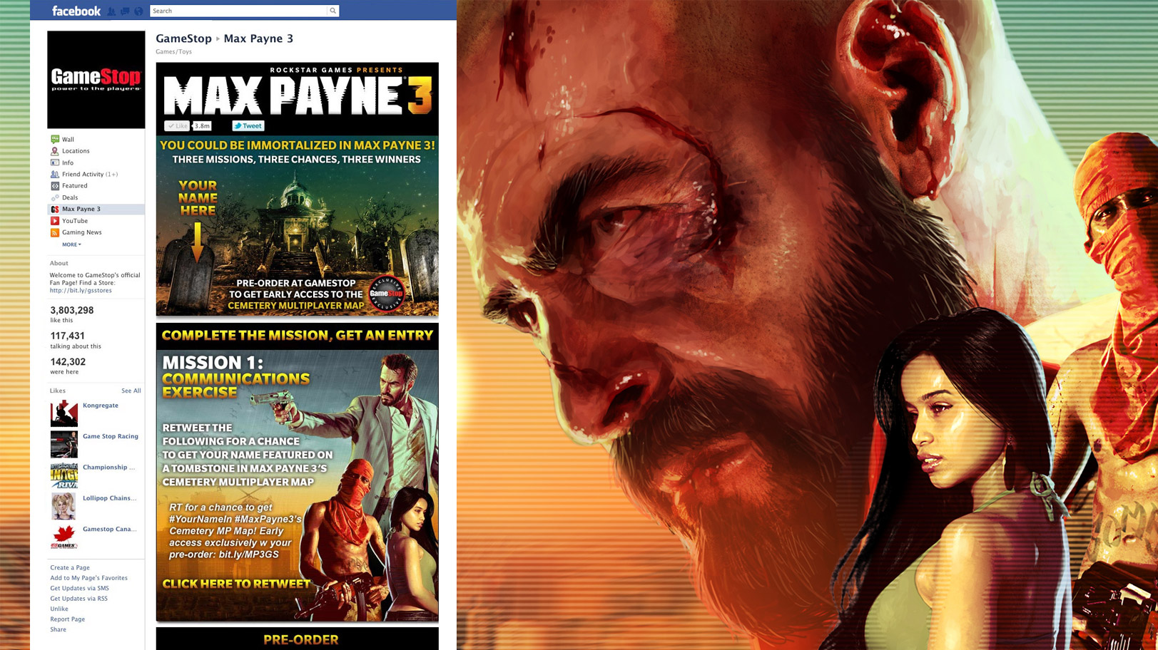 Max Payne 3 Tombstone